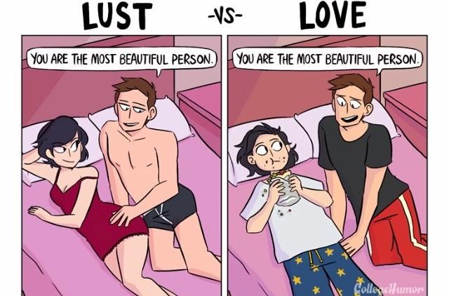 Похоть и любовь