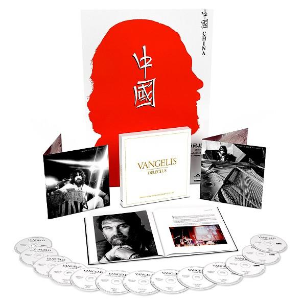 Vangelis - Delectus: The Polydor & Vertigo Recordings 1973-1985 [13CD] (2017) FLAC