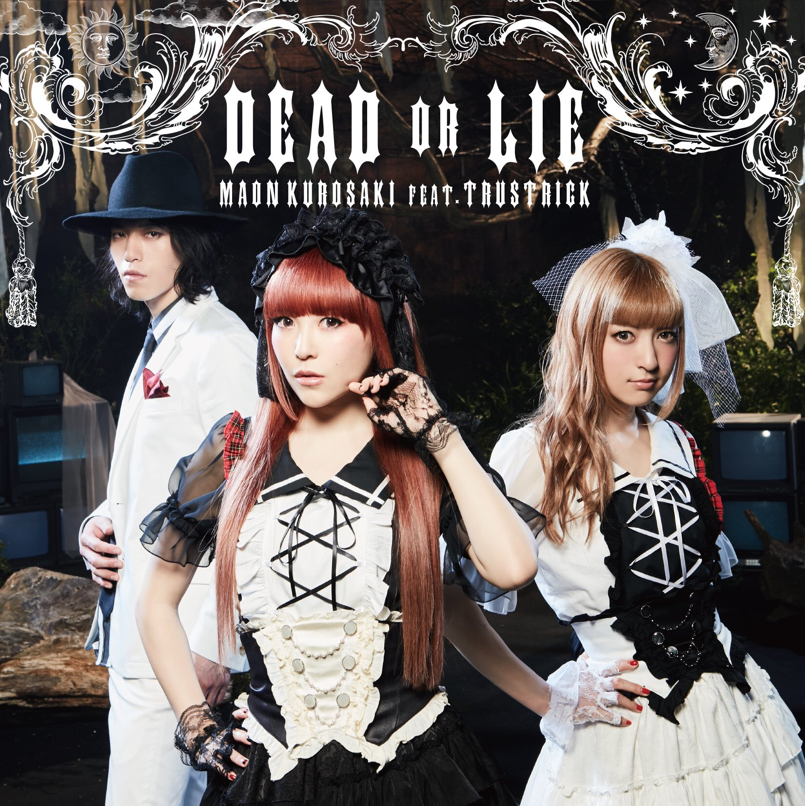 20170415.0846.17 Maon Kurosaki feat. Trustrick - Dead or Lie (Regular edition) (FLAC) cover 1.jpg