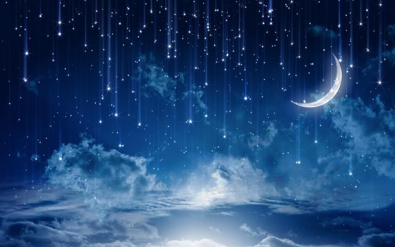 звездное небо обои на рабочий стол 1920х1080 № 358881 без смс