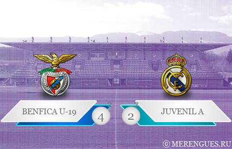 S.L. Benfica - Real Madrid Juvenil А 4:2