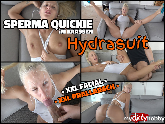 Lara-CumKitten (Sperm quickie in stark Hydrasuit - SOO I bring everyone to cum / Apr 23, 2017)