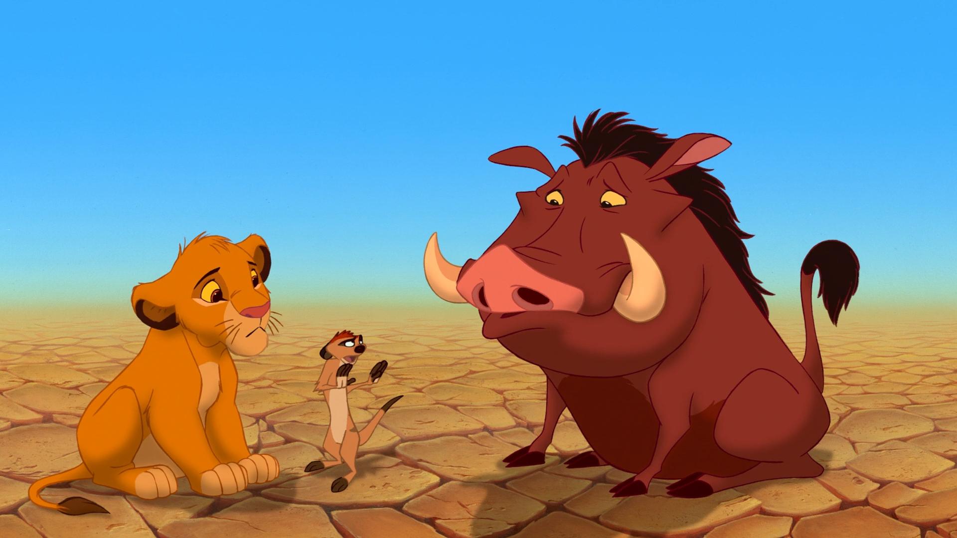 Король Лев / The Lion King (1994) BDRip [H.264/1080p-LQ]