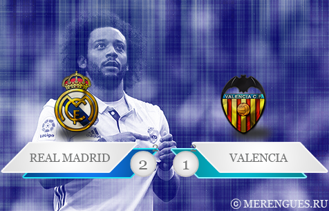 Real Madrid C.F. -  Valencia C.F. 2:1
