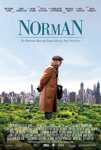 Norman The Moderate Rise and Tragic Fall of a New York Fixer 2017 HDRip XviD AC3-EVO