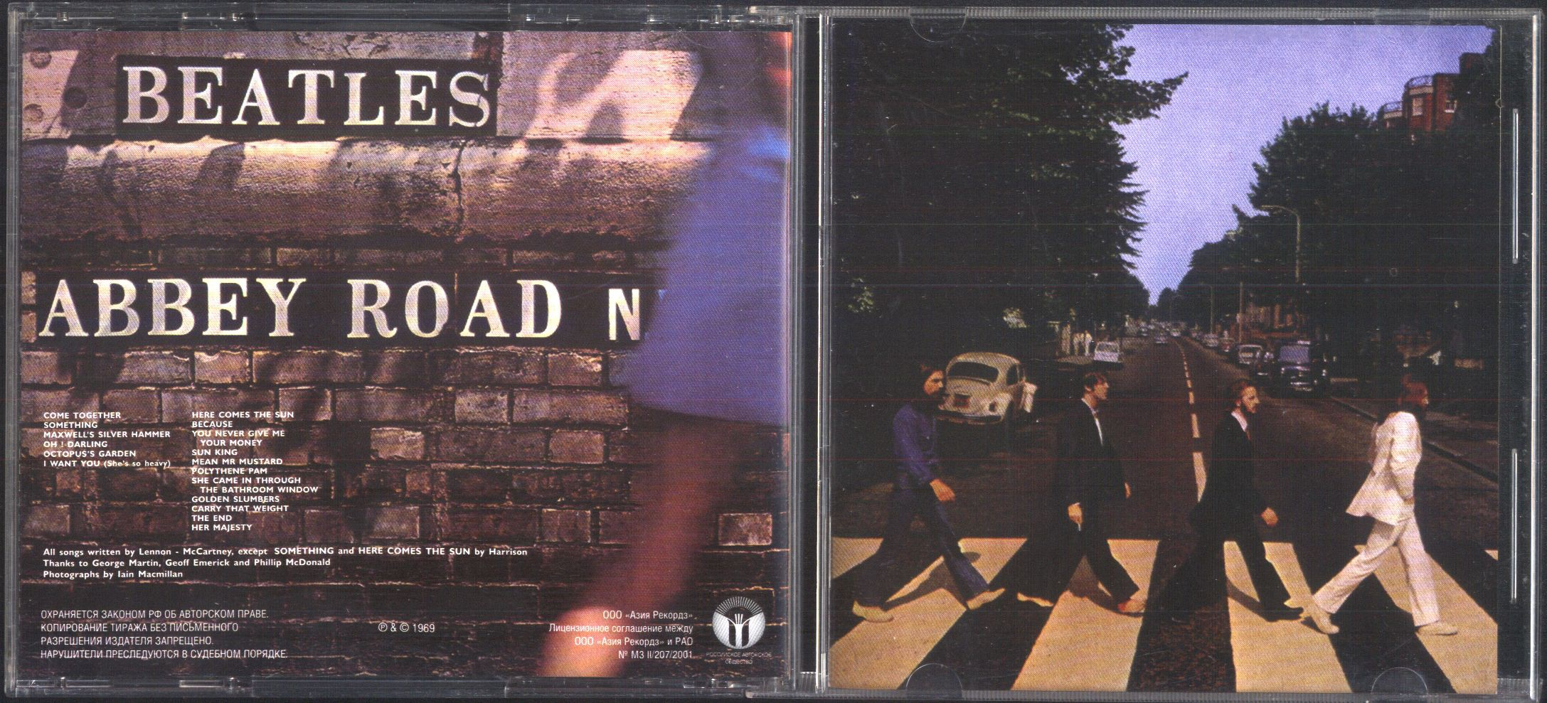 BEATLES - Abbey Road (12page Booklet With Booklet,
