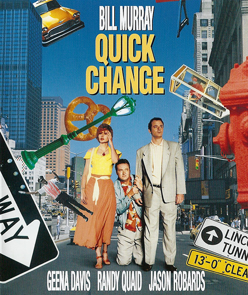 Быстрые перемены / Quick Change (1990) WEBRip 1080p   D, P, A