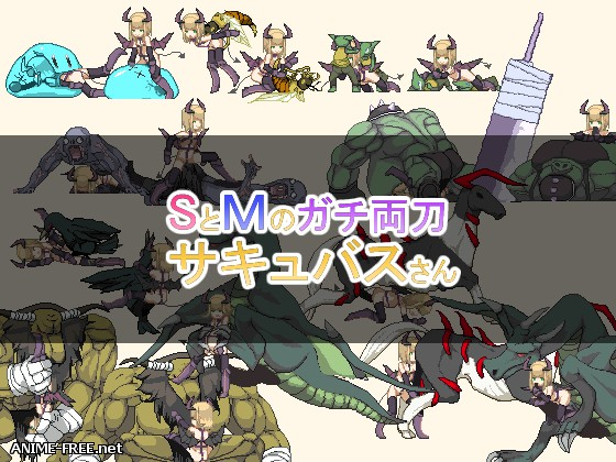 Sadistic / Masochistic BiPersonality Succubus [2017] [Uncen] [Dot/Pixel] [JAP] H-Game