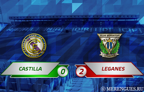 Real Madrid Castilla - CD Leganes 0:2