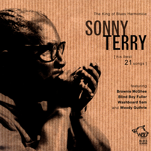 (Blues, Harmonica) [CD] Sonny Terry - His Best 21 Songs (1938-1946) - 2015, FLAC (tracks+.cue), lossless