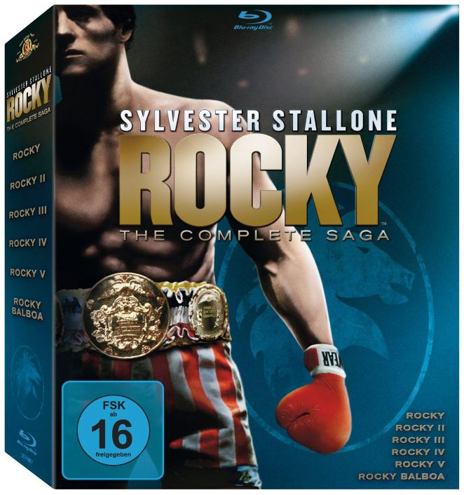Rocky - La Saga Completa (1976-2006) [1080p] [ITA ENG][5 1]
