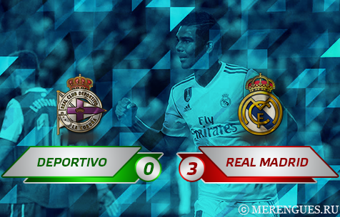 RC Deportivo La Coruna - Real Madrid C.F. 0:3