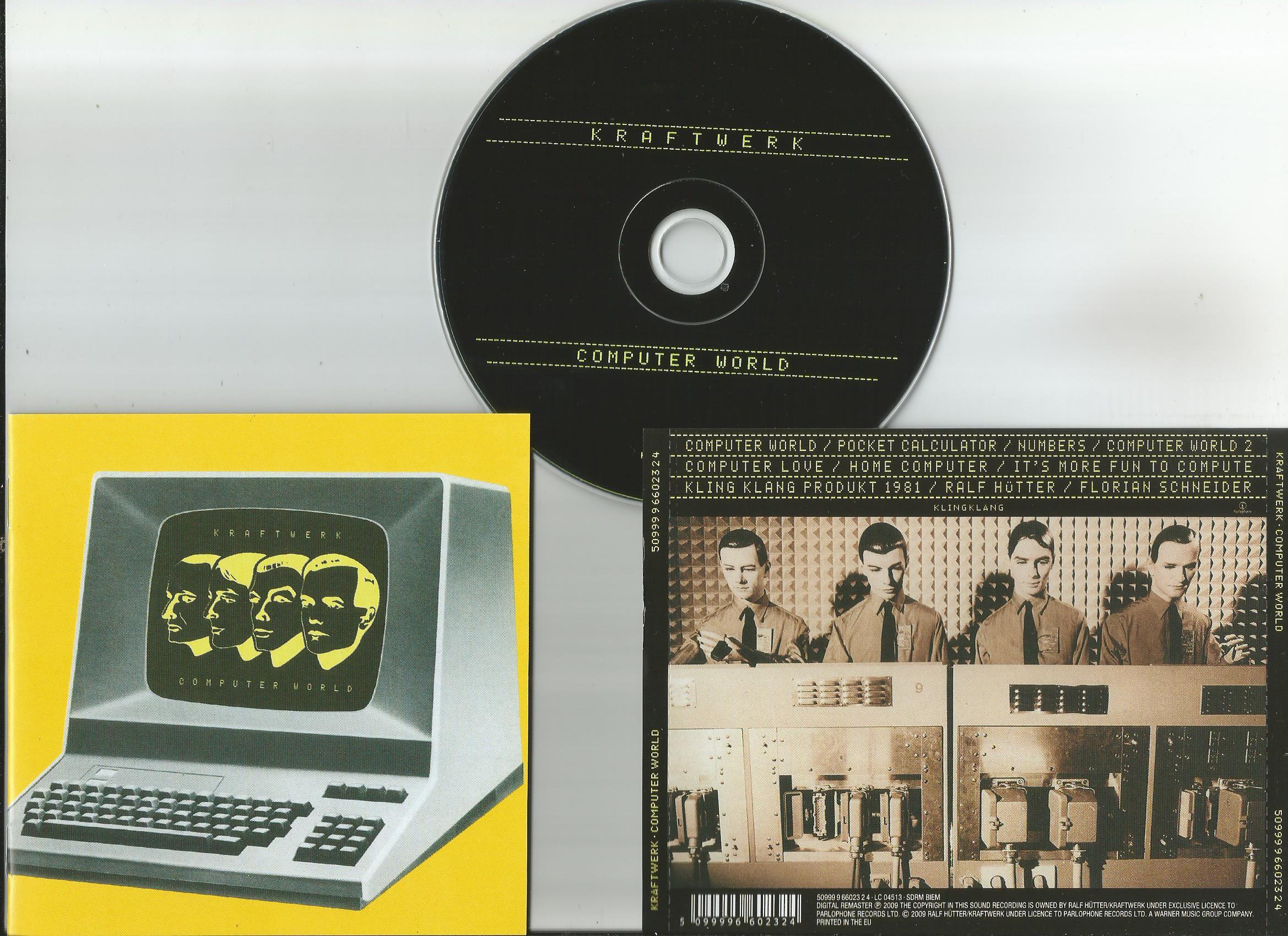 kraftwerk computer world (no slipcase, 16page booklet, remaster 2009)