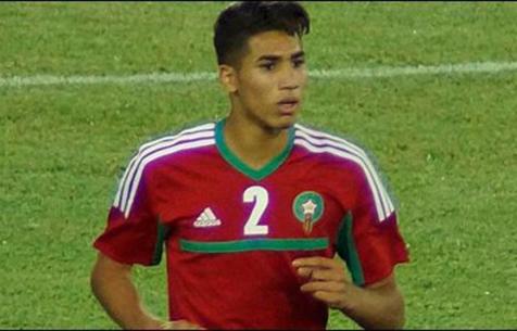Ашраф забил гол в дебютной игре за Марокко
