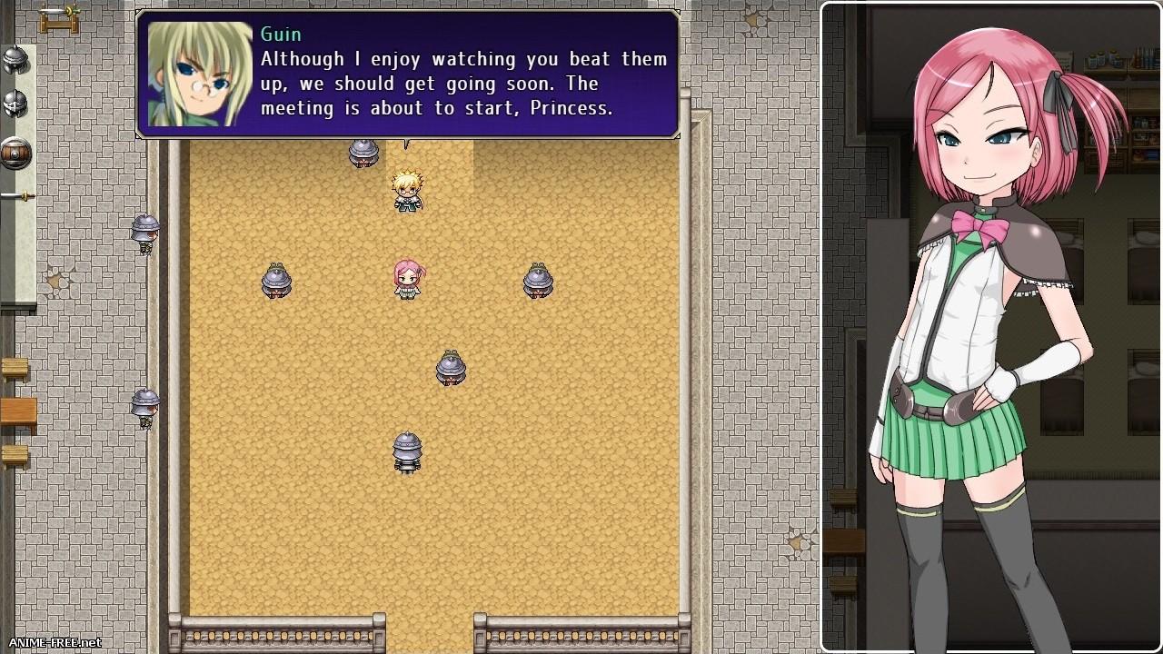 Fallen Princess Lucia Story / История падения принцессы Люси [2016] [Uncen] [jRPG] [ENG] H-Game