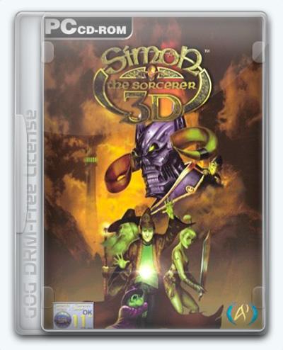 Simon the Sorcerer 3D (2002) [Ru/En] (2.0) License GOG