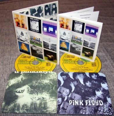 PINK FLOYD - A Nice Pair (mini-lp Replica Double Cd In Gatefold Cardsleeve, 8page Booklet, Sealed)