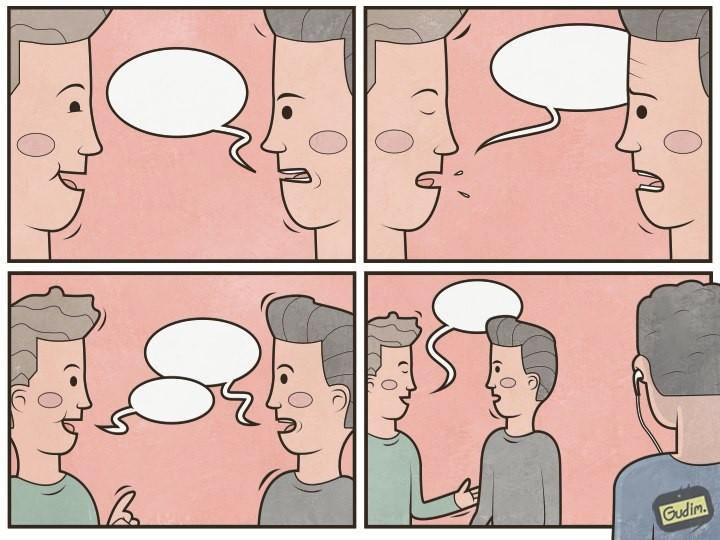 Диалоги в наушниках