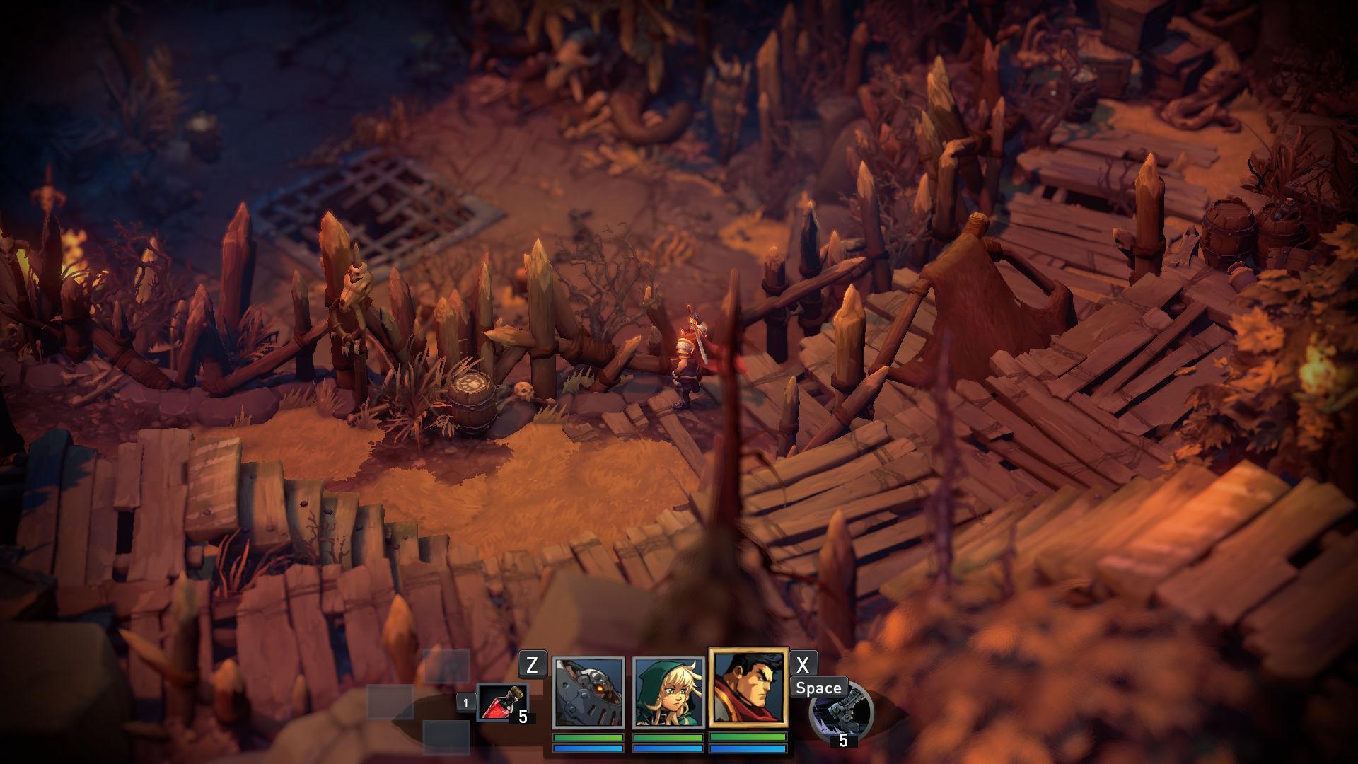 Скачать торрент игры Battle Chasers: Nightwar