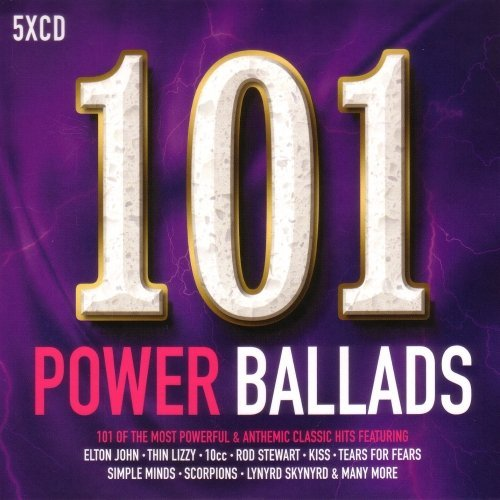 101 Power Ballads [5CD] (2017)