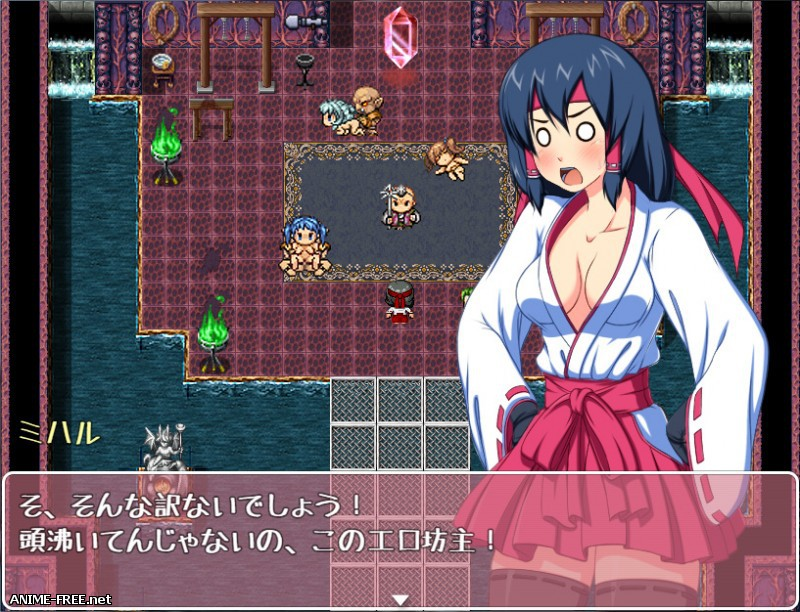 Exorcist Shrine Maiden Miharu ~The Licentious Journal of her Captive Violation~ [2017] [Cen] [jRPG] [JAP] H-Game