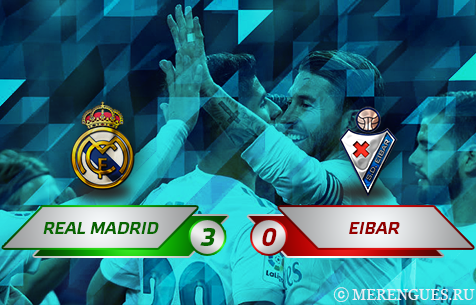 Real Madrid C.F. - SD Eibar 3:0