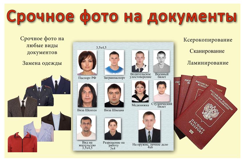 Фото на документы: коротко о главном
