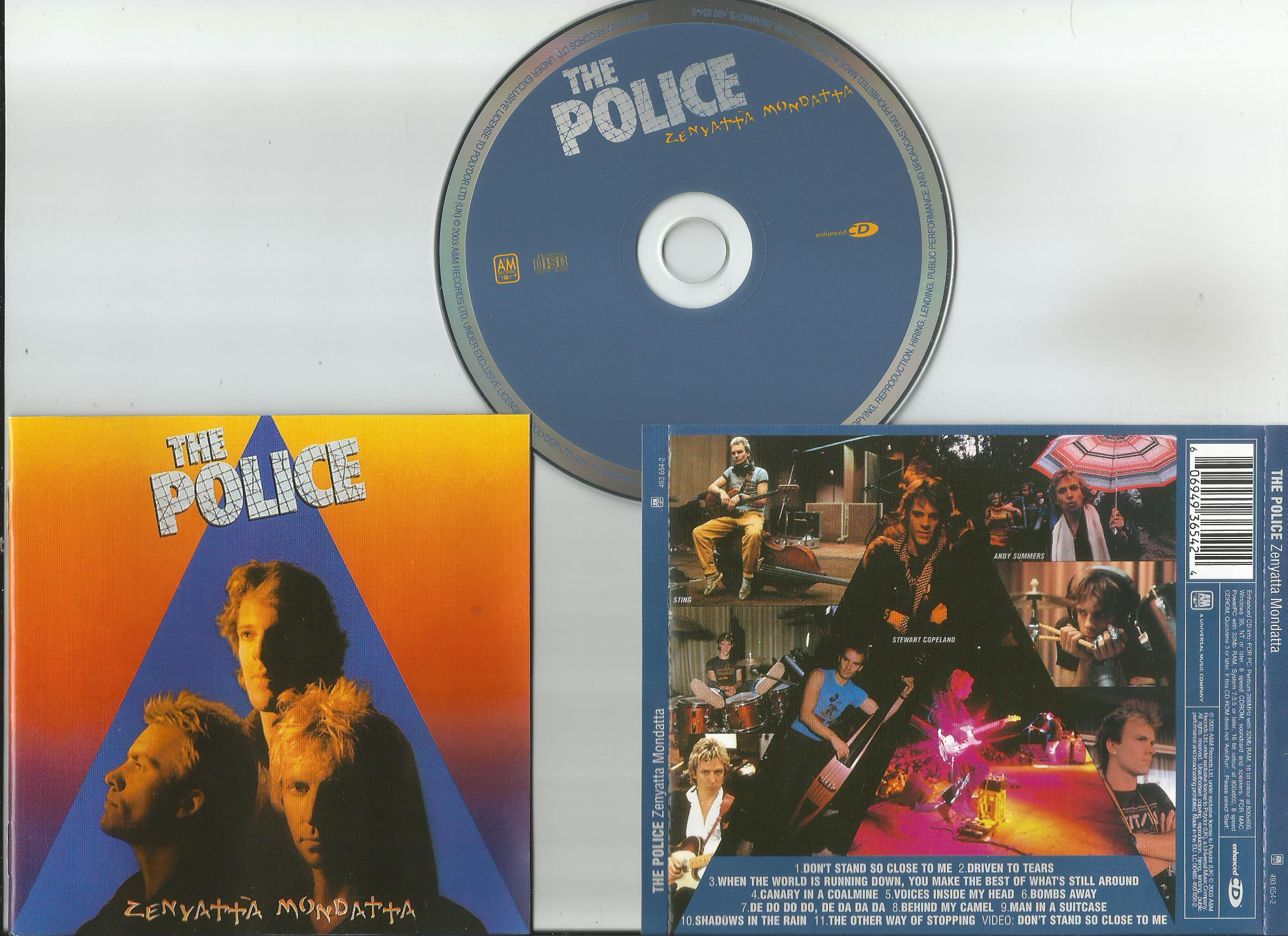 Police Zenyatta Mondatta Records Lps Vinyl And Cds