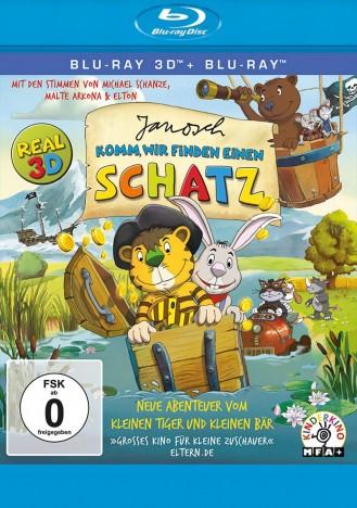 Корабль сокровищ / Janosch: Komm, wir finden einen Schatz (2012) BDRemux 3D [H.264/1080p] [ISO]
