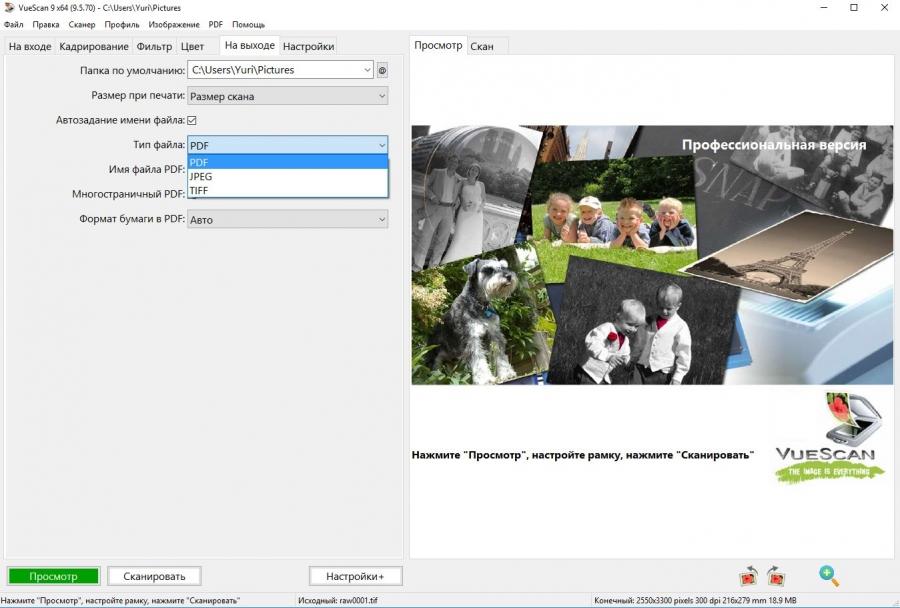 VueScan Pro 9.5.91 (2017) PC