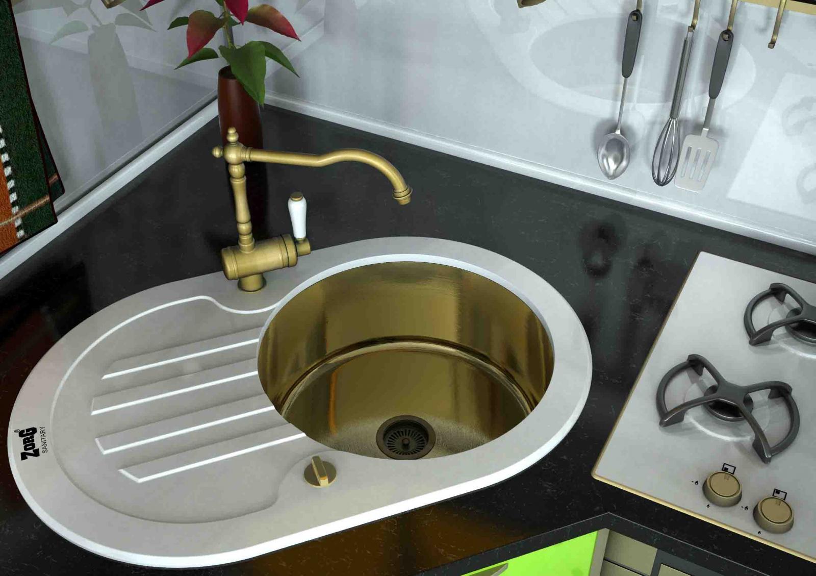 Современная мойка Зорг – идеальное решение для кухни