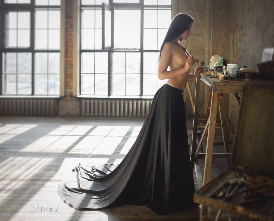 В студии художника