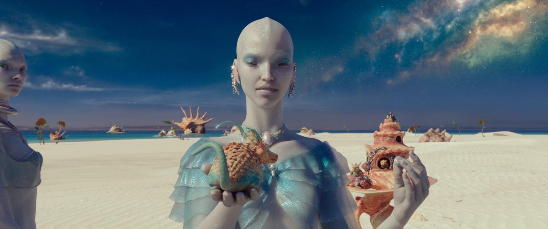 Валериан и город тысячи планет / Valerian and the City of a Thousand Planets (2017/BDRip) 1080p, D, A, Лицензия, Локализованая версия