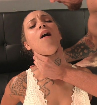 [Ginarys Kinky Adventures / Clips4sale.com] Sasha Foxxx Gets Throat Fucked [2017 г., Blowjob, Face Fucking, Deepthroat, Throat Fetish, Submissive Slut, 1080p]