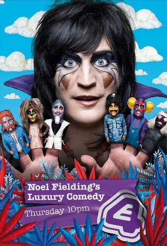 Роскошная комедия Ноэля Филдинга / Noel Fielding's Luxury Comedy [02x01 из 05] (2014) WEBRip 720p | Jimmy J
