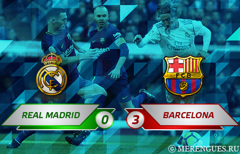Real Madrid C.F. - FC Barcelona 0:3