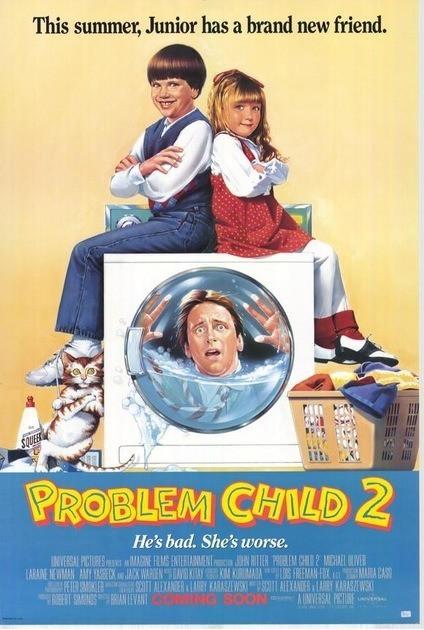Трудный ребенок 2 / Problem Child 2 (1991) BDRip [H.265/1080p] [10-bit]