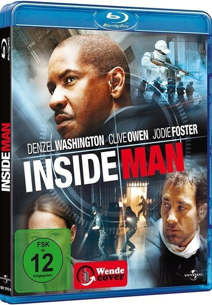 Не пойман – не вор / Inside Man (2006) BDRip [H.265/1080p] [10-bit]