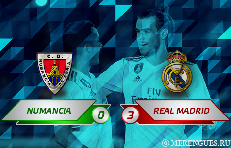 CD Numancia - Real Madrid C.F. 0:3
