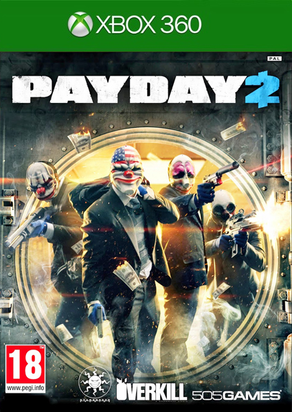 [XBOX360] Payday 2[FREEBOOT / ENG]
