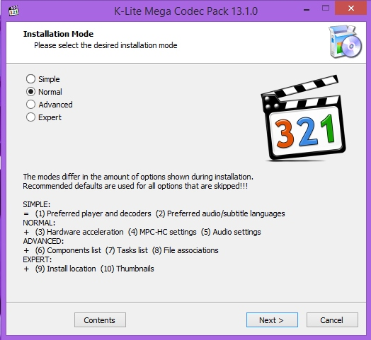 K-Lite Codec Pack [14.4.5] + Update (2018/PC/Английский)
