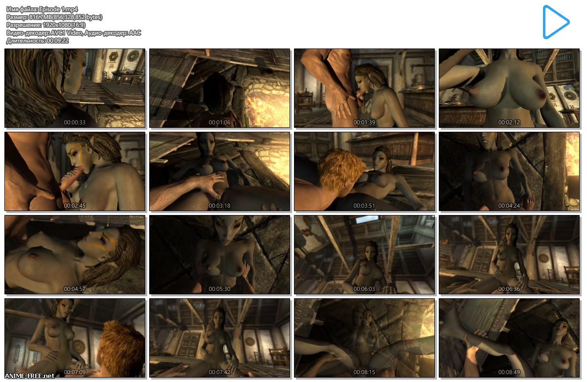 Skyrim Immersive Porn (Laarel) [2016-2017] [Uncen] [ENG] [1080p] 3D-Hentai
