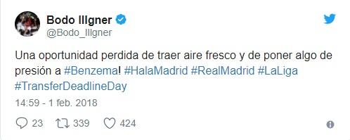 """Иллгнер раскритиковал """"Мадрид"""" за позицию в отношении Бензема"""