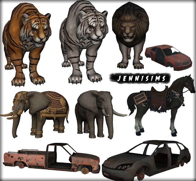 Животные анимированные и как декор 198c8f34e20b88be731c01d44c73dd89