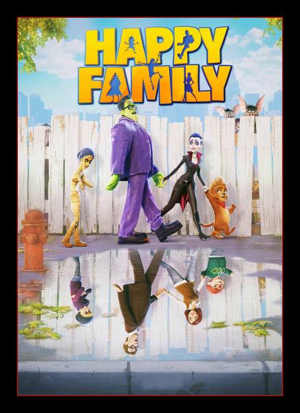 Мы – монстры / Happy Family (Хольгер Таппе / Holger Tappe) [2017, Великобритания, Германия, Мультфильм, ужасы, комедия, семейный, DVD9] Dub (R5)