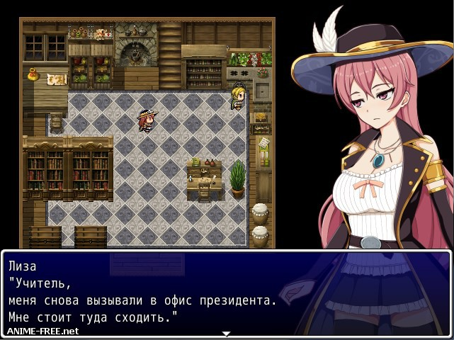XVI ~ Tower the town of Liz ~ [2016] [Сen] [jRPG] [JAP,RUS] H-Game