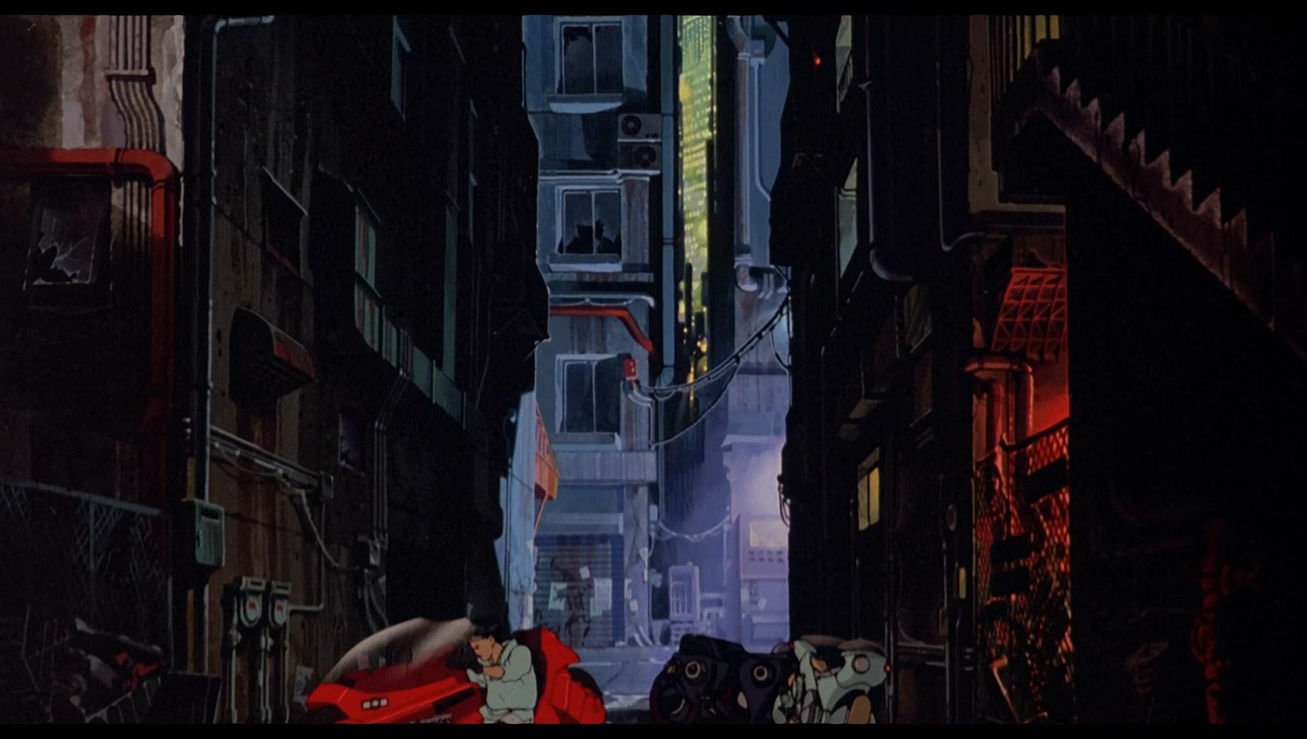 Акира / Akira (1988/BDRip-HEVC) 1080p, P