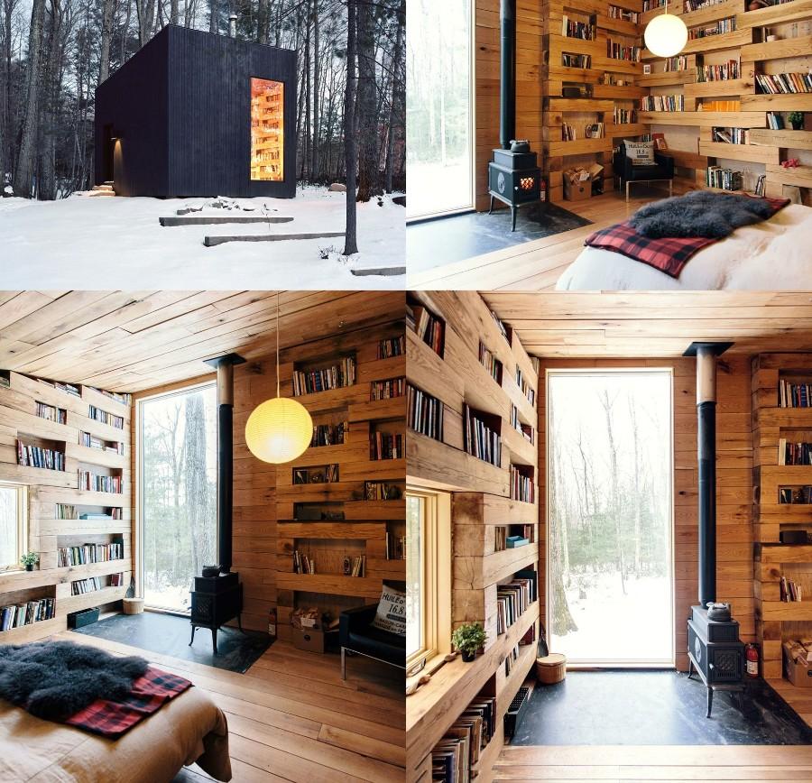 Уютная библиотека