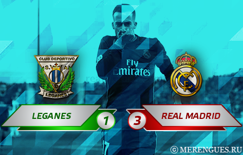 CD Leganes - Real Madrid C.F. 1:3
