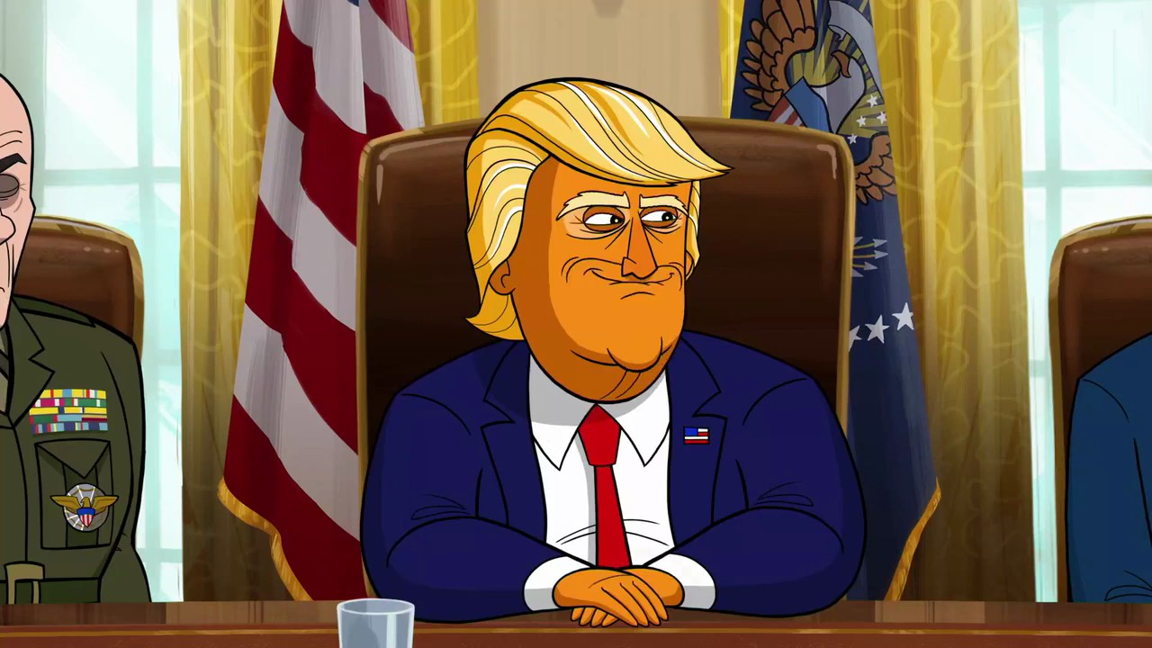 Наш мультяшный президент / Our Cartoon President [01x01-05 из 10] (2018) WEB-DLRip 720p